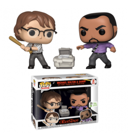 Funko POP Office Space - Michael Bolton and Samir ECCC 2019 Exclusive