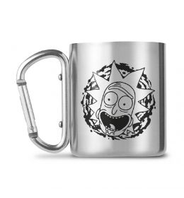 Rick and Morty Carabiner Mug Rick and Morty