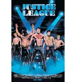 JUSTICE LEAGUE #40  Movie Poster variant