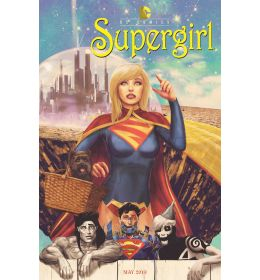 SUPERGIRL #40  Movie Poster variant