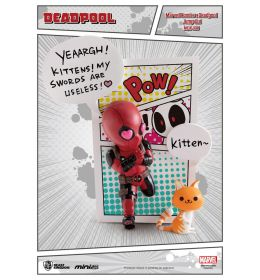 Deadpool Jump Out 4th Wall 12 cm