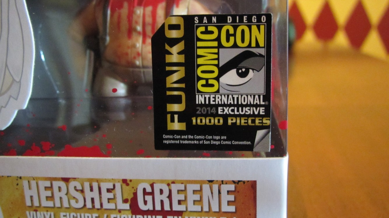 Funko POP SDCC Exclusive 2014 sticker