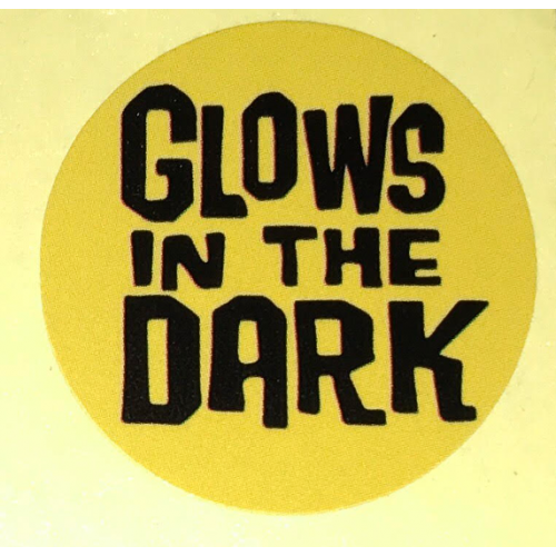 Glow in the dark Sticker Funko